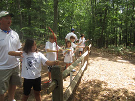 Camp Activities Archery