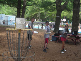 Camp Activities Discgolf