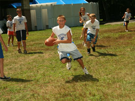 Camp Activities Football